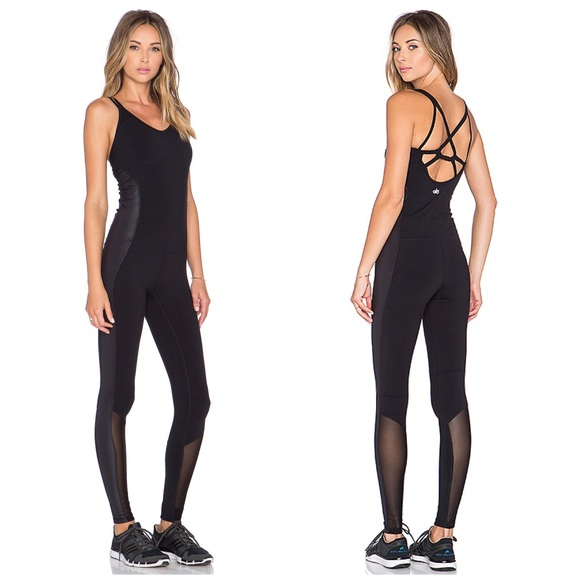 0a9aee7f2794 ALO Yoga Pants - Alo Yoga • Black Rebel Unitard One Piece Jumpsuit